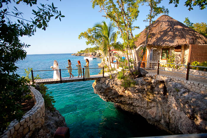 One Of The Most Desirable Destination Wedding Hotels In Jamaica Rockhouse Goes To Great Lengths Create A Memorable Experience Food Is