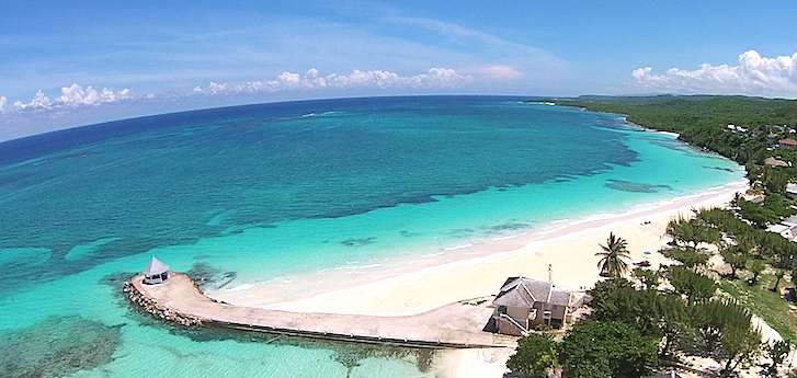 A Tour Of Falmouth East End Silver Sands Beach In Jamaica